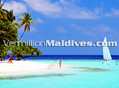 Beautiful Maldives Beach Resort hotel. Bandos Island Resort Maldives