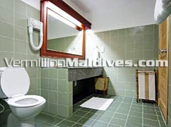 Garden Villa's Bathroom at Maldives Resort Hotel Bandos