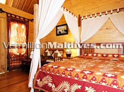 Garden Villa's at the island of Bandos Maldives