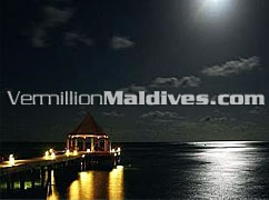 Arrival Jetty - Banyan Tree Madivaru Maldives 5 star Deluxe Hotels