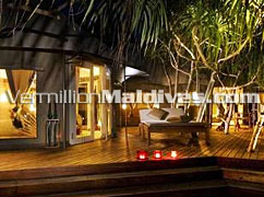 Tented Pool Villa accommodation – Banyan Tree Madivaru Maldives