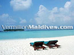 Beach - Sun Chairs - Banyan Tree Maldives – Vabbinfaru