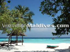 Sun bathing - Maldives resorts - Banyan Tree Vabbinfaru