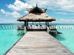 Sunset Jetty - Lagoon view - Banyan Tree – Maldives Resort