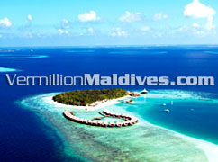 Aerial Picture of the Resort hotel. Baros Maldives…. A  holiday at Paradise
