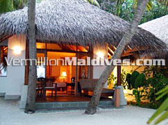 Deluxe Villa from outside. Maldives Hotels Baros… truly unique