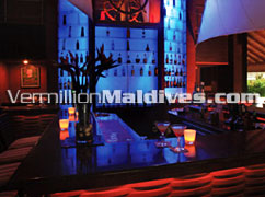 Sails Bar a the Hotel in Maldives Island Baros