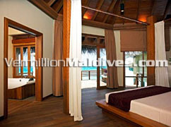 Water Villa Accommodation : Baros Hotel in Maldives is the place for you