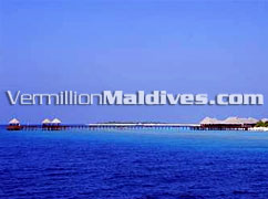 Arrival Jetty – The Waldorf Astoria Collection, former Beach House at Manafaru – Secluded and Wonderful Resort