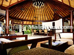 Arrival Lobby for your stay while check in - The Beach House MALDIVES – New Resort by The WALDORF ASTORIA COLLECTION