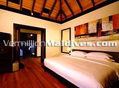 Bed Room - Beach House at THE WALDORF ASTORIA COLLECTION MALDIVES – book your bed now