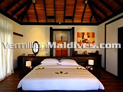 Bed Room – Go direct and enjoy now - Beach House, The Waldorf Astoria Collection Maldives