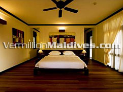 Bed Room - Maldives Resort Beach House,The Waldorf Astoria Collection Maldives