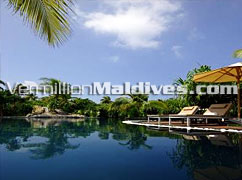 Exotic Maldives - Pool – The Waldorf Astoria Collection Hotel in Maldives