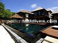 Grand Beach Pavilion – Resort with two storey rooms –beach House Maldives