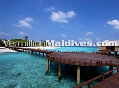 Path to Water Villas – Private and Luxurious – Waldorf Astoria Collection Maldives Resort