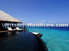 Water Villas with direct access to Ocean - beach House MALDIVES – Waldorf Astoria Collection