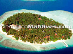 Aerial Picture of Biyadhoo Island Resort Hotel Maldives