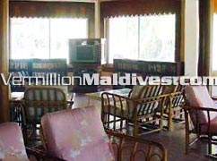 Reception Area at Biyadhoo Maldives. Affordable Maldives vacation Hotel