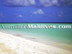 Biyadhoo Maldives resort Island's beautiful beach & lagoon