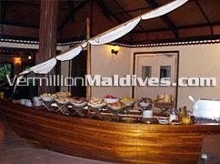 Buffet Ready: Choose, Relax & enjoy the meals at Biyadhoo Maldives Holidays