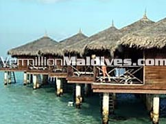 Water Bungalow at the resort