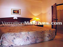 Bedroom for your Holiday - Male' Hotel Deals available from Vermillion