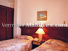 Bedrooms of Candies - Twin or Double available on your request – Male' Hotel for your stay