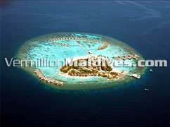 Aerial View of Centara Grand Island Resort and Spa – New Resort in Maldives