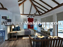 Deluxe Water Villas of Centara Grand Island Resort – Family resort in Maldives