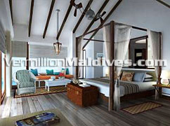 Luxury Sunset Water Villas - Your honeymoon in Maldives in Centara Grand Island