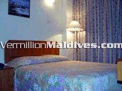 Double Room accommodation at Central Hotel Male' Maldives