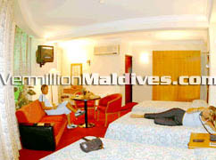 Maldives Central hotel – Junior Suite accommodation
