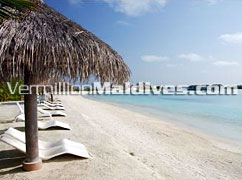Beach & lagoon of Chaaya Island Dhonveli Beach Resort Maldives