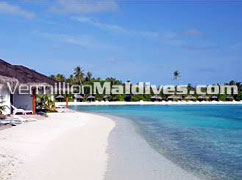 Bungalows just in front of beach - Chaaya Island Dhonveli
