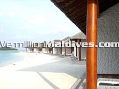 Tropical Beach Resort Island. Maldives Hotel Chaaya Island Dhonveli