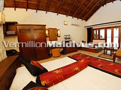 Interior of your Beach Bungalow - Chaaya Island Dhonveli