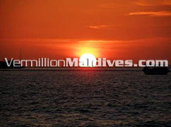 Sun Set View - Chaaya Island Dhonveli – Magic Maldives Island