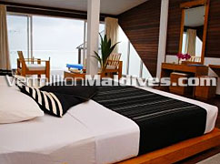 Water Bungalow Room Interior - Chaaya HakuraHuraa – Maldives