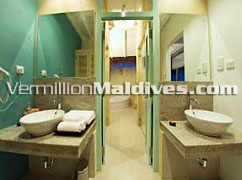 Bath Room - Water Villa - Ellaidhoo Maldives – Simple Luxury