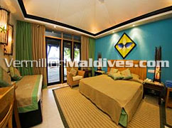 Interior - Beach Room - Chaaya Reef Ellaidhoo – Maldives Hotel