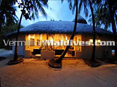 Reception of Chaaya Reef Ellaidhoo Maldives Retreat
