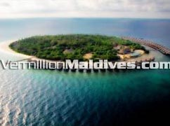 Aerial Picture View of Cinnamon Island Alidhoo Maldives Resort