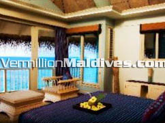 Maldives Hotel Alidhoo. Duplex Ocean Villa accommodation