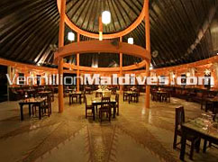 Restaurant of Cinnamon Island Alidhoo – Great Maldivian Experience