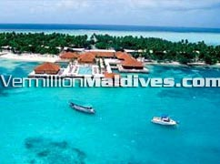 Aerial View - Club Faru Maldives Beach Resort