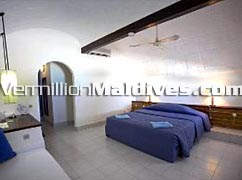 Inside the Room of Club Faru - Maldives accommodation for you