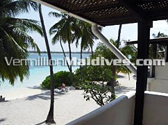 Two Storey accommodation of Club Faru Maldives Hotel