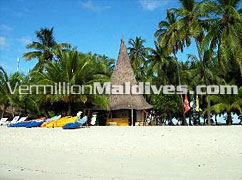 Water Sports Centre of Club Faru Maldives. Your Holiday place