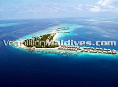Aerial View - Coco Palm Bodu Hithi – Maldives Island Resort